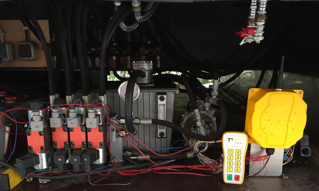 Hydraulisk-system-fjernkontroll